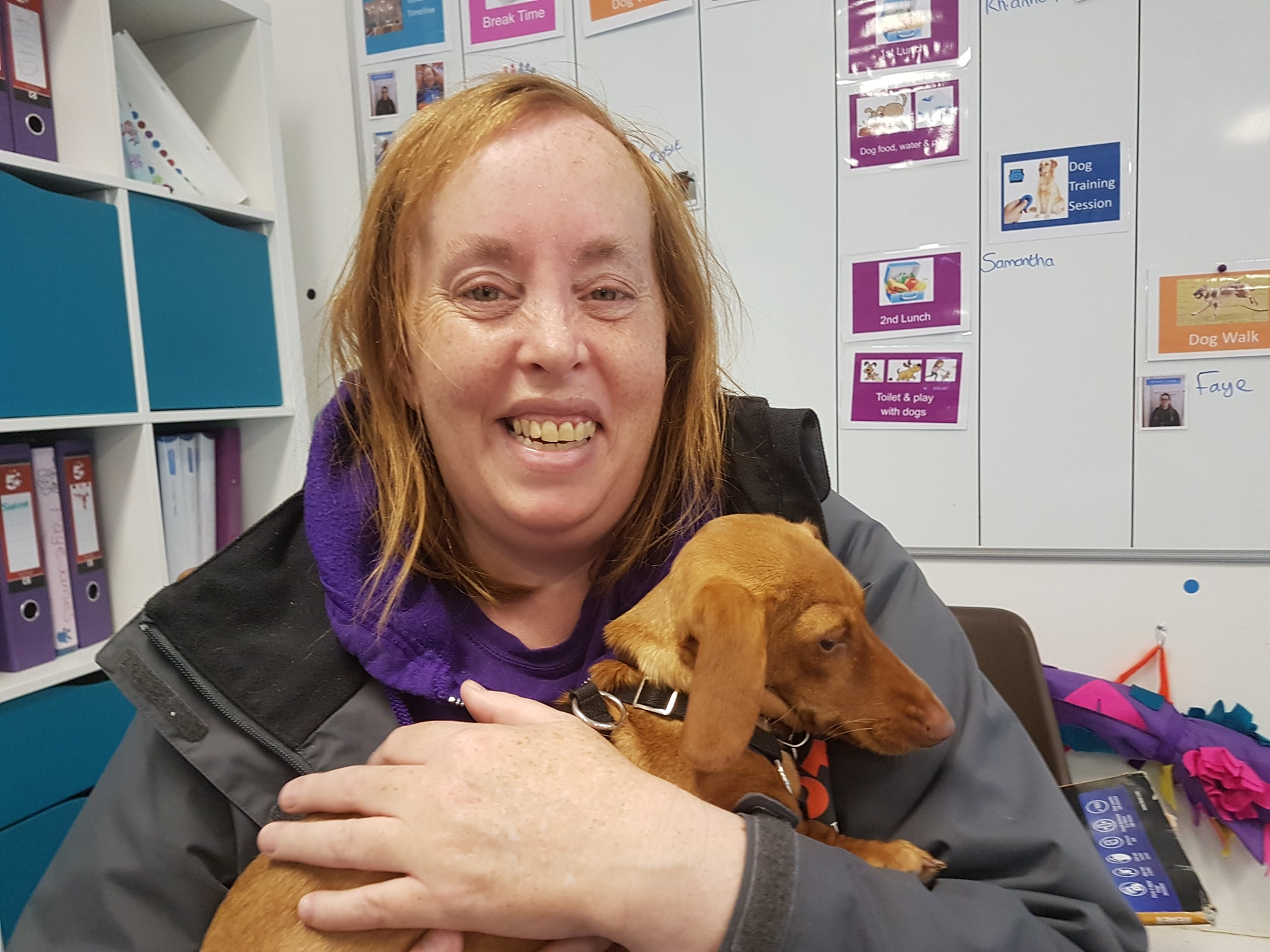 Volunteering with Dogs - SPPOT, Haverfordwest
